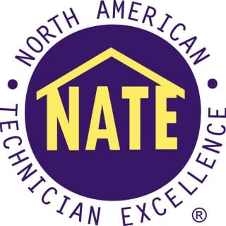 HVAC Industries Technicians Are NATE Certified.