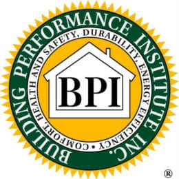 BPI Certified technicians hvac industries