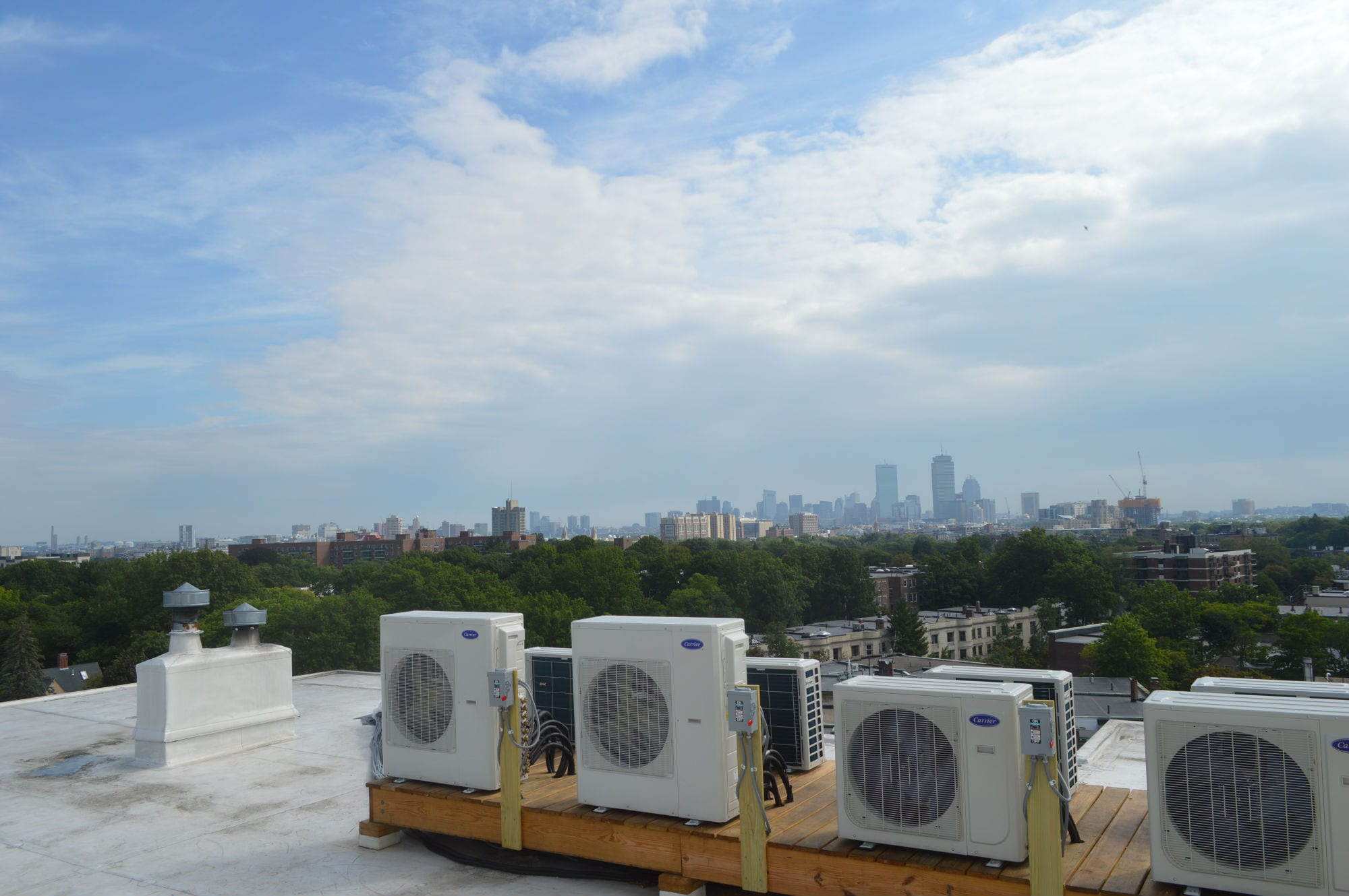 Babcock st Brookline MA HVAC Commercial Project