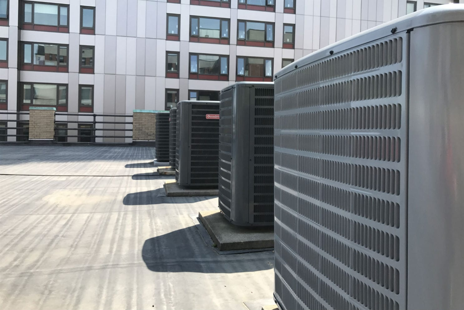 Carrier Dcne Training Center Hvac Commercial Project Boston
