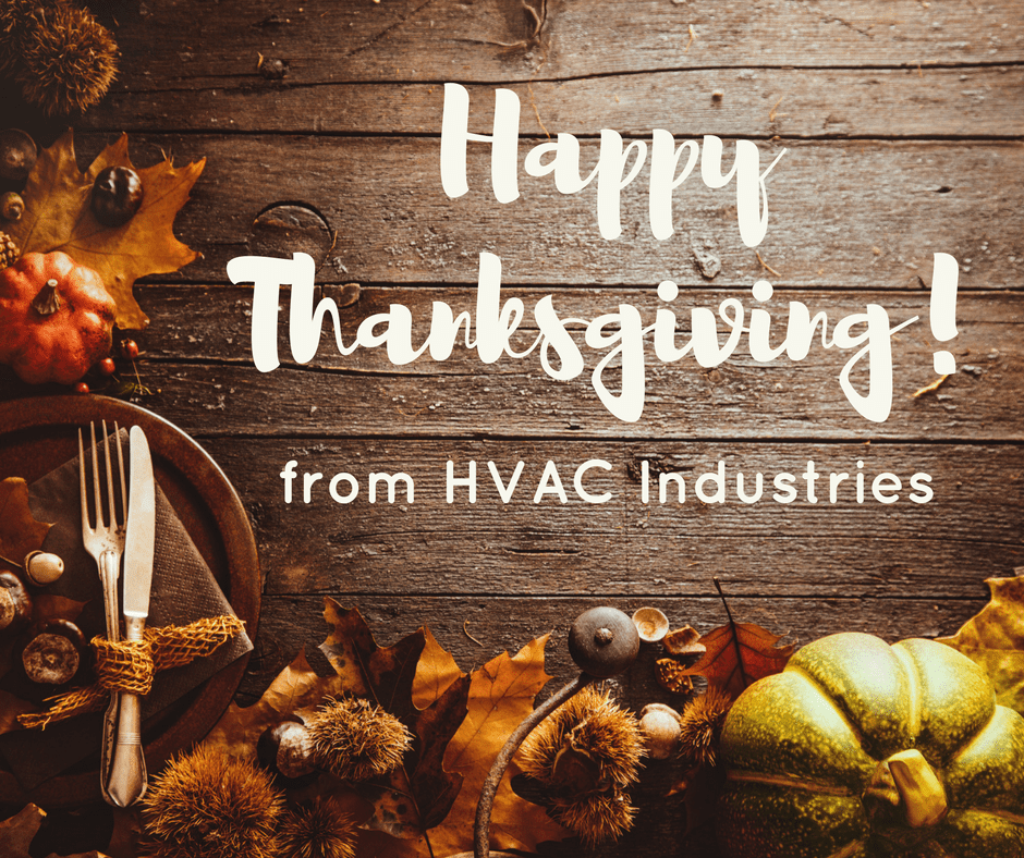 Happy Thanksgiving from HVAC Industries