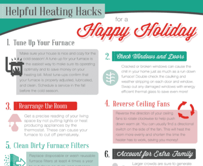 Helpful Heating Hacks for a Happy Holiday