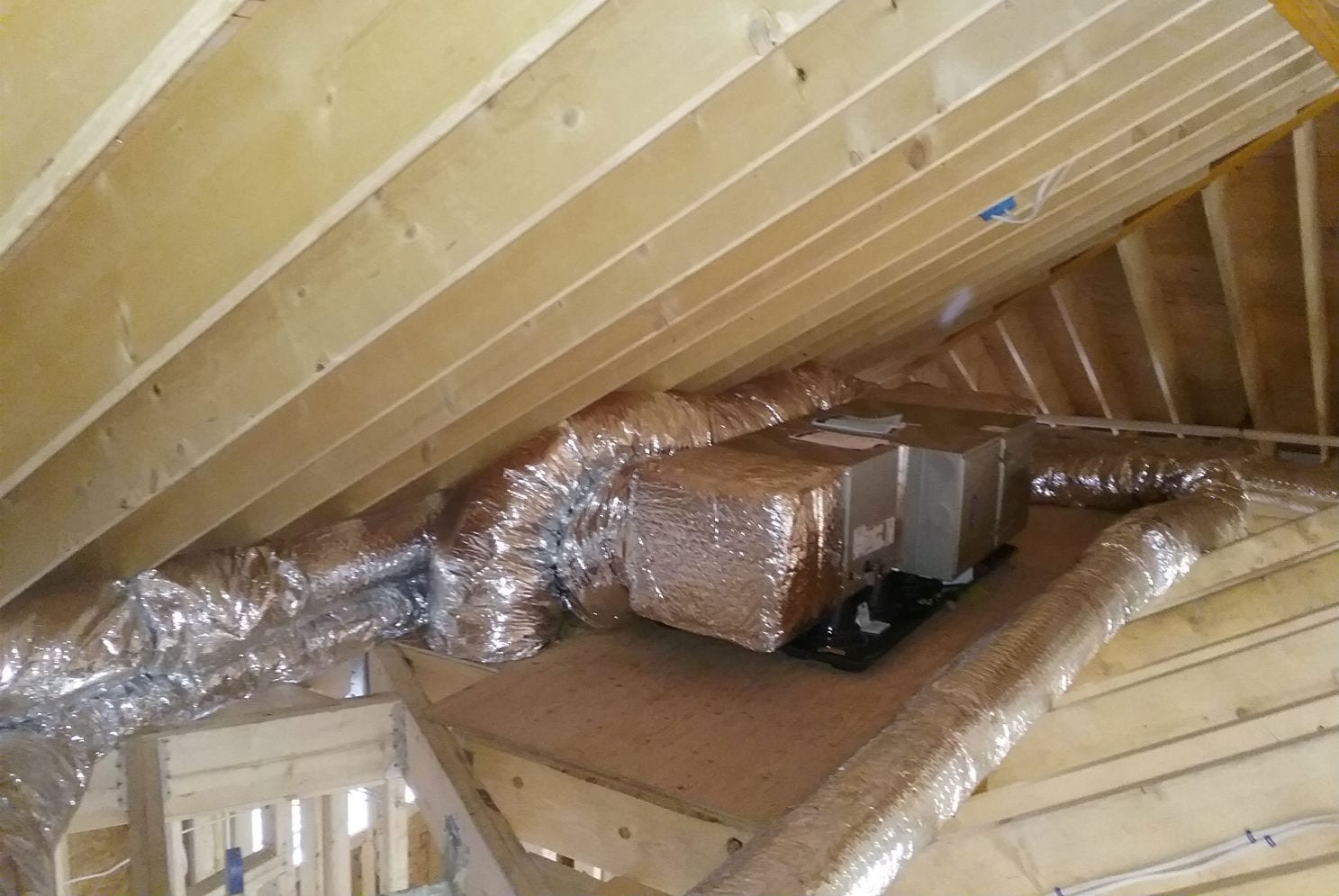 Langley Rd. Newton - Residential HVAC Project