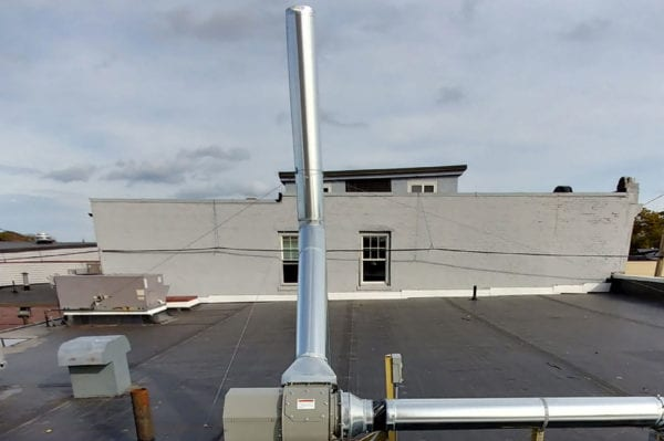 School St, Quincy - Industrial HVAC Project