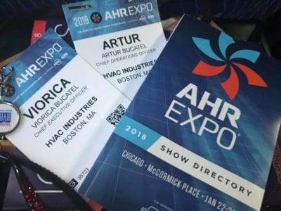 HVAC Industries team attended ASHRAE winter conference & AHR Expo 2018