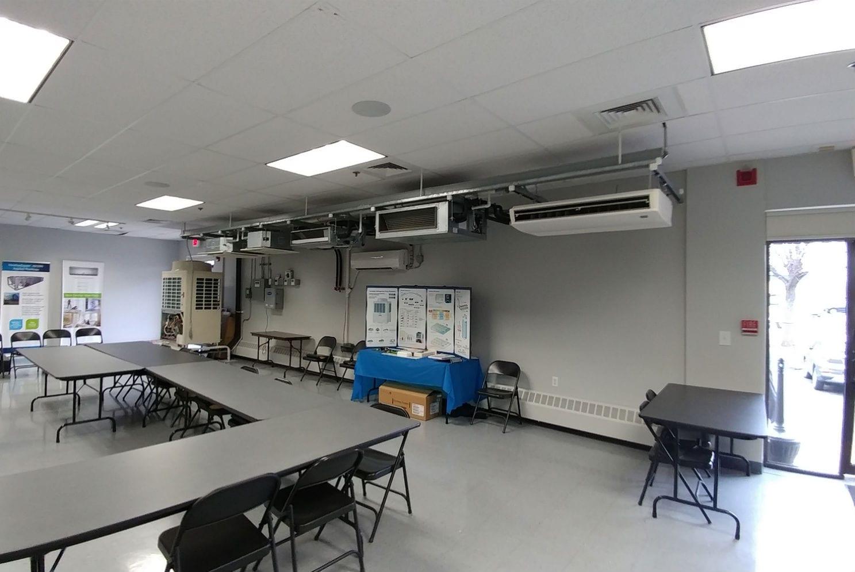 Dcne Vrf Training Room Hvac Commercial Project Hvacinds Com
