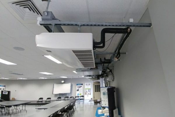 DCNE VRF Training Room HVAC Commercial Project