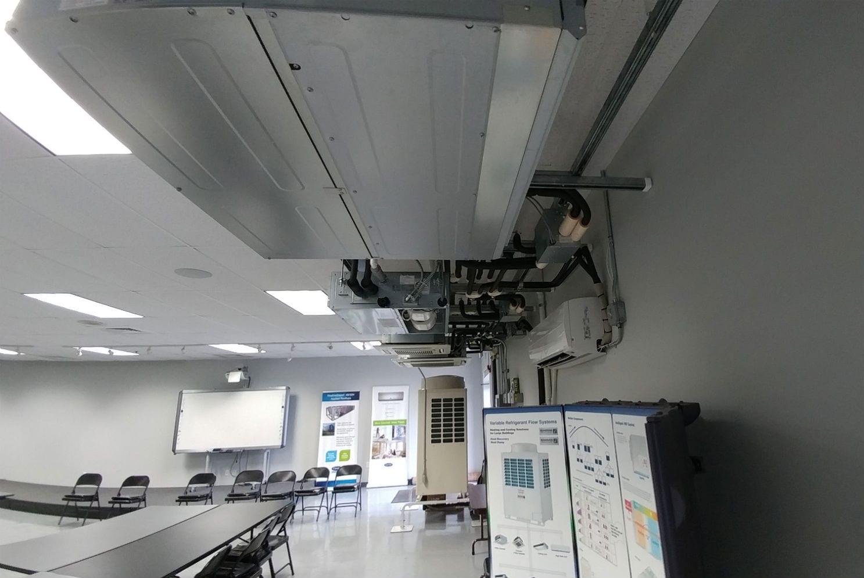 Dcne Vrf Training Room Hvac Commercial Project Hvac