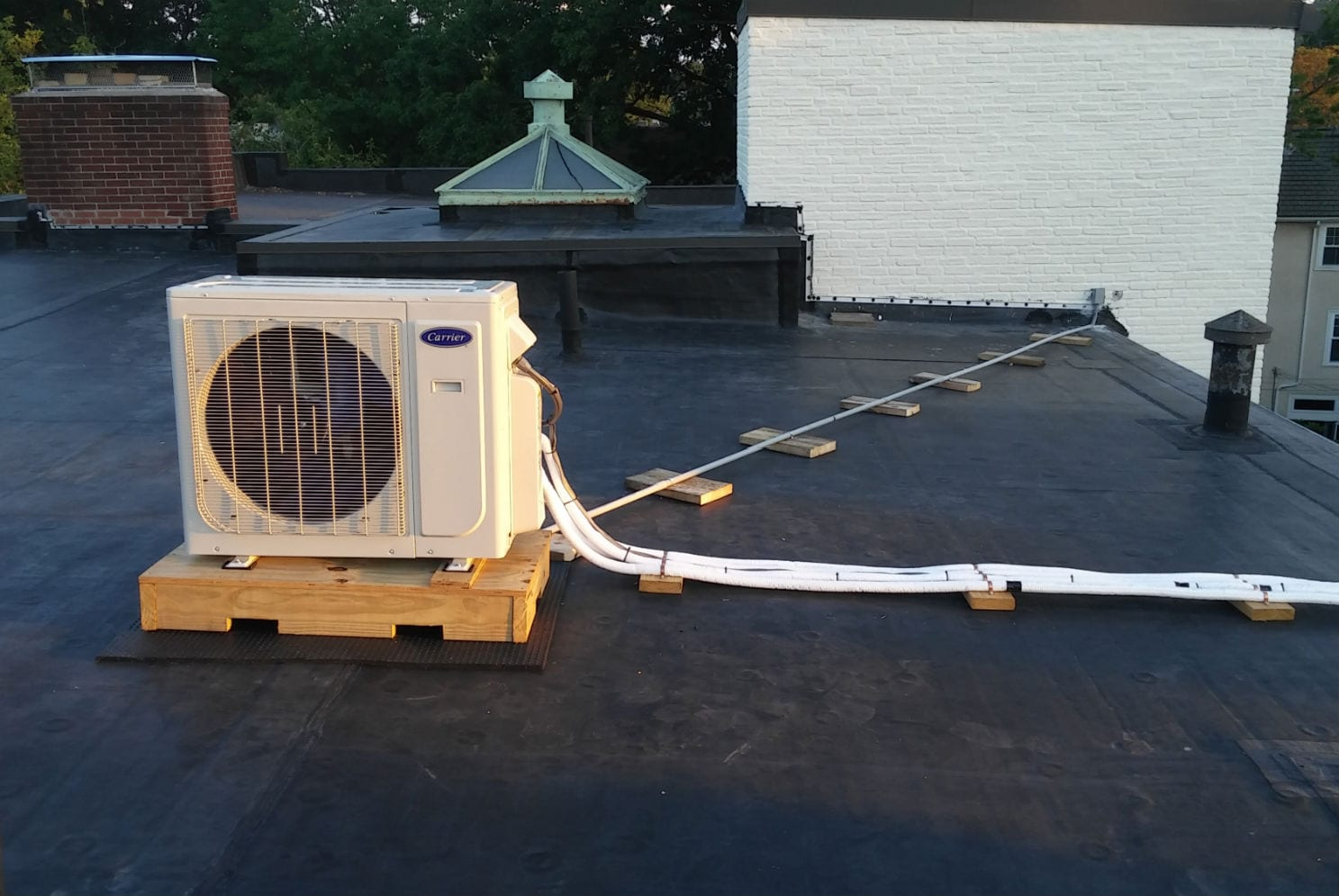 Fuller St, Brookline MA - HVAC Residential Project