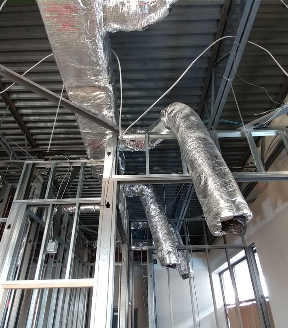 Wood St HVAC Commercial Project