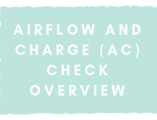 Airflow and Charge (AC) Check Overview