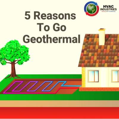 5 Reasons To Go Geothermal