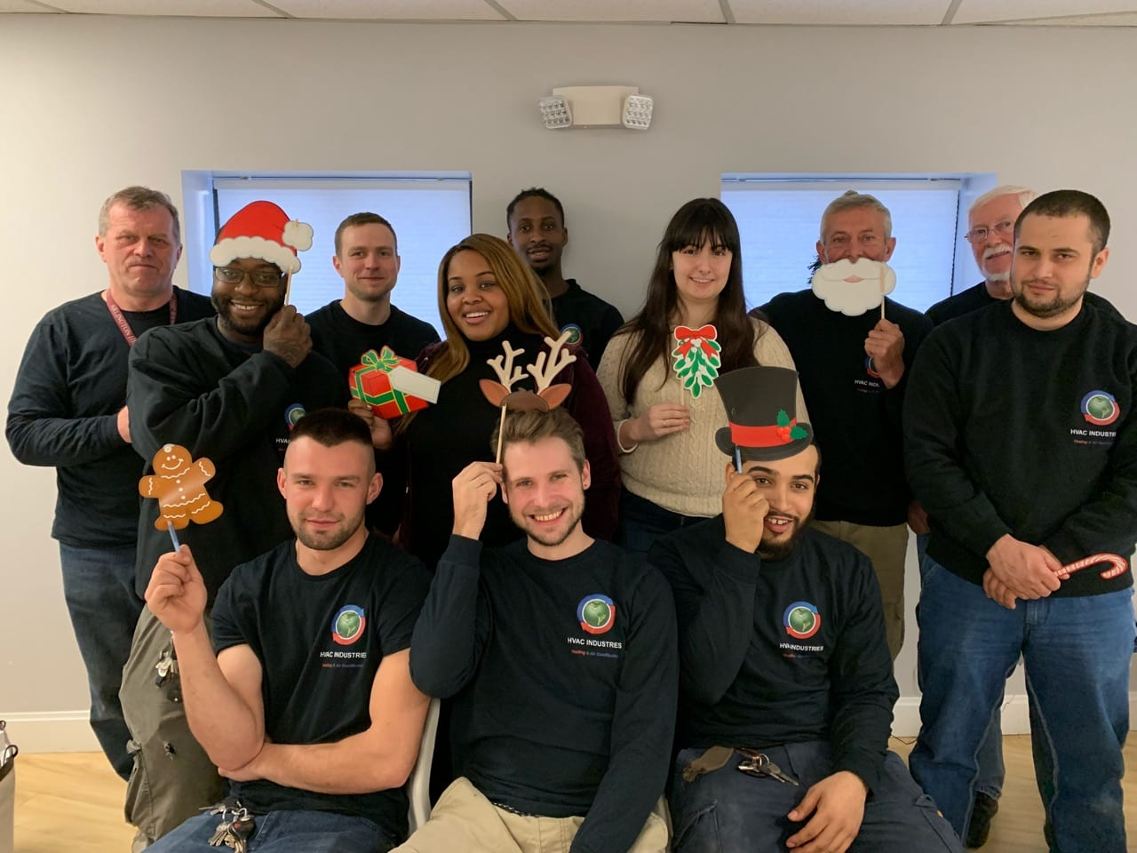 Happy Holidays from HVAC Industries