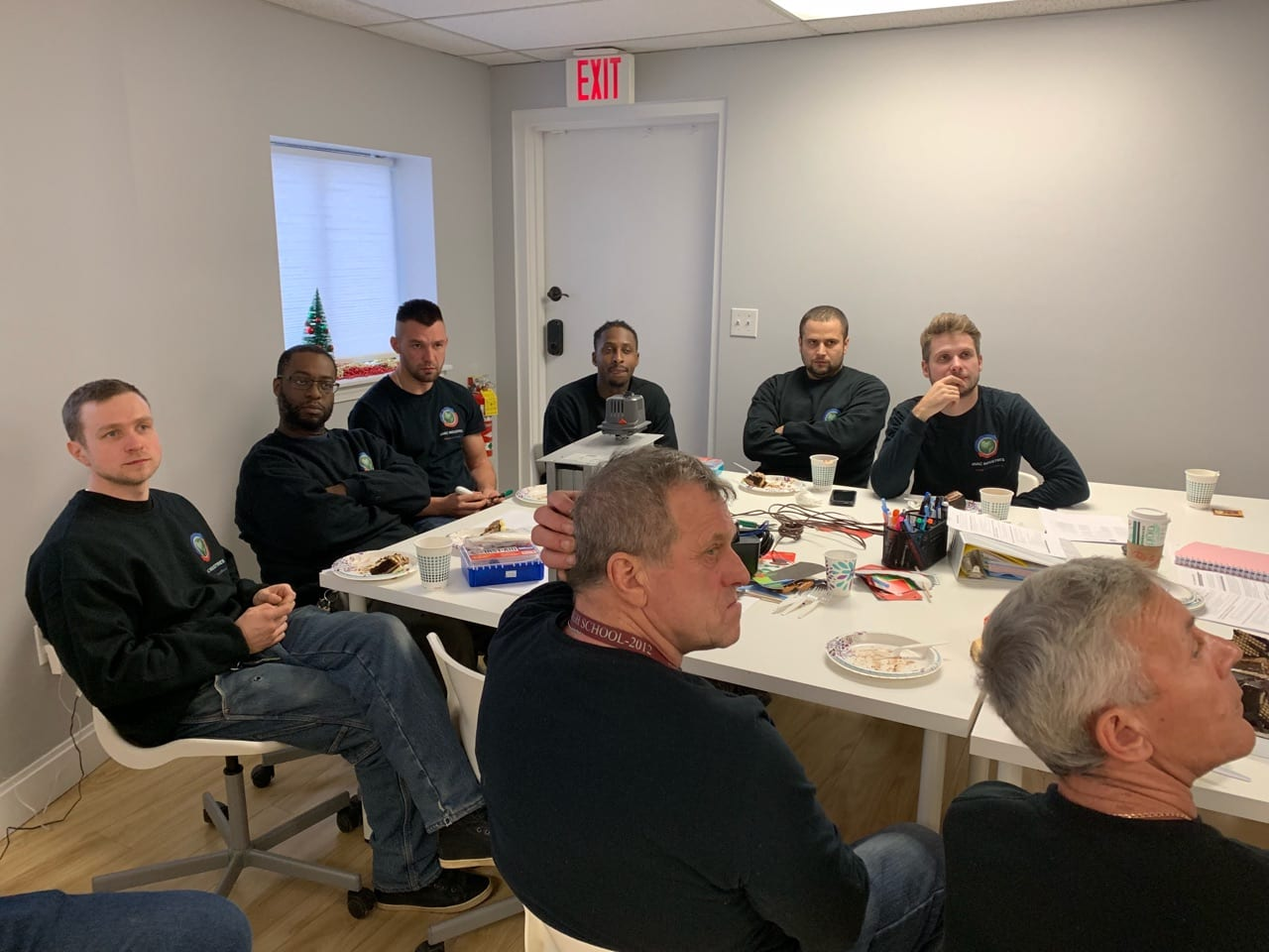 Safety Meeting and Low Voltage & Controls Training