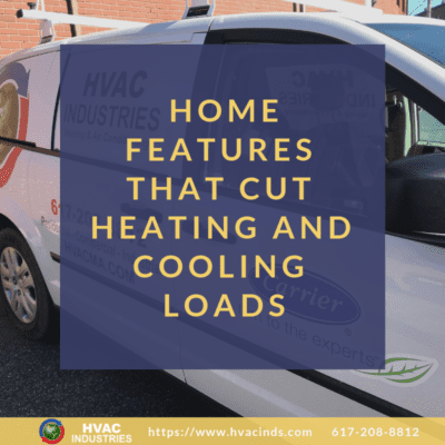Home Features that Cut Heating and Cooling Loads