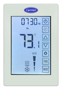 Carrier Introduces ComfortVu™ BACnet Thermostats