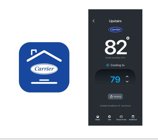 CARRIER HOME APP
